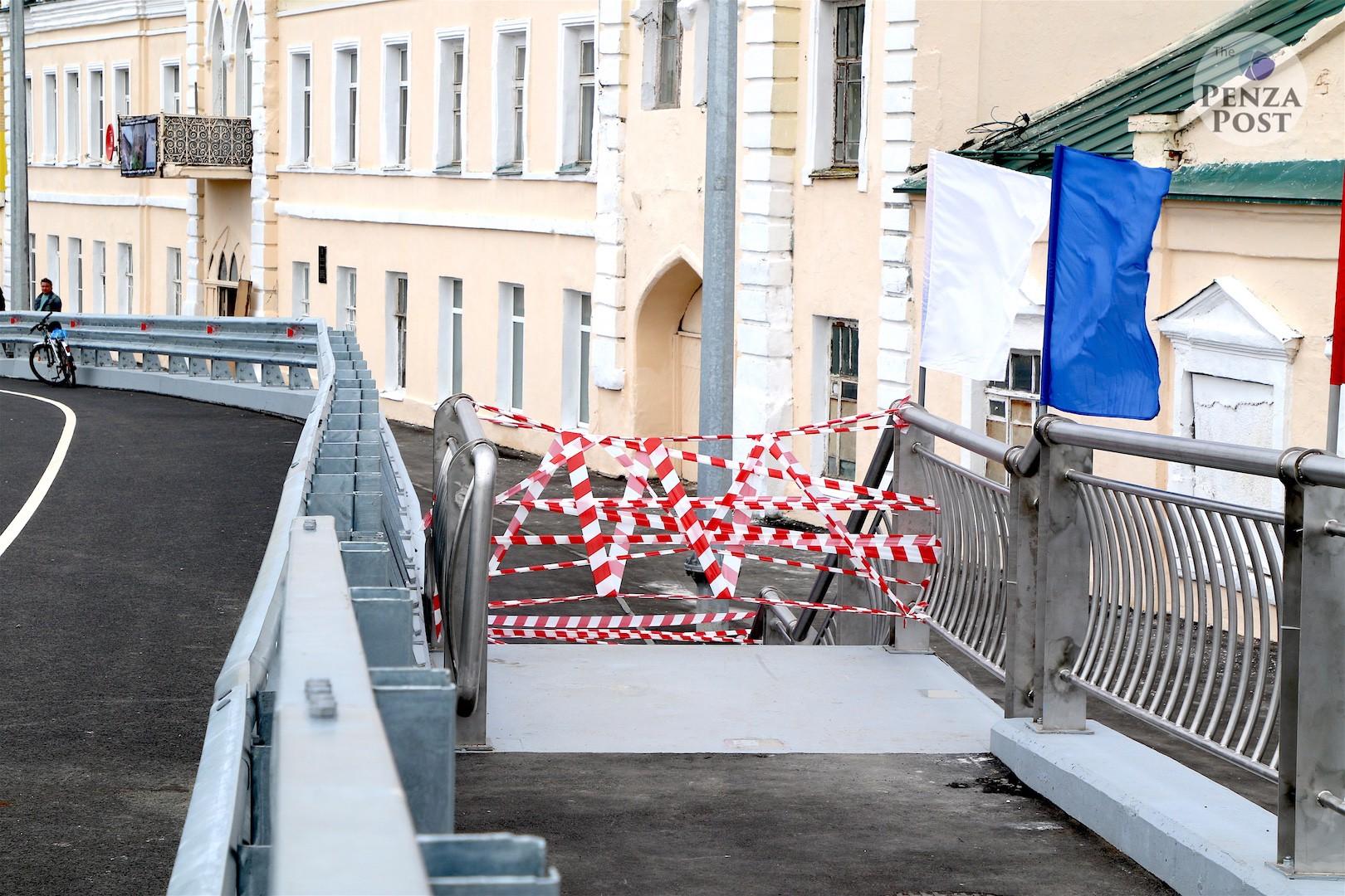 Бакунинский мост в Пензе открыт, но Мельниченко придется вложить еще более миллиарда в устранение косяка прежней власти