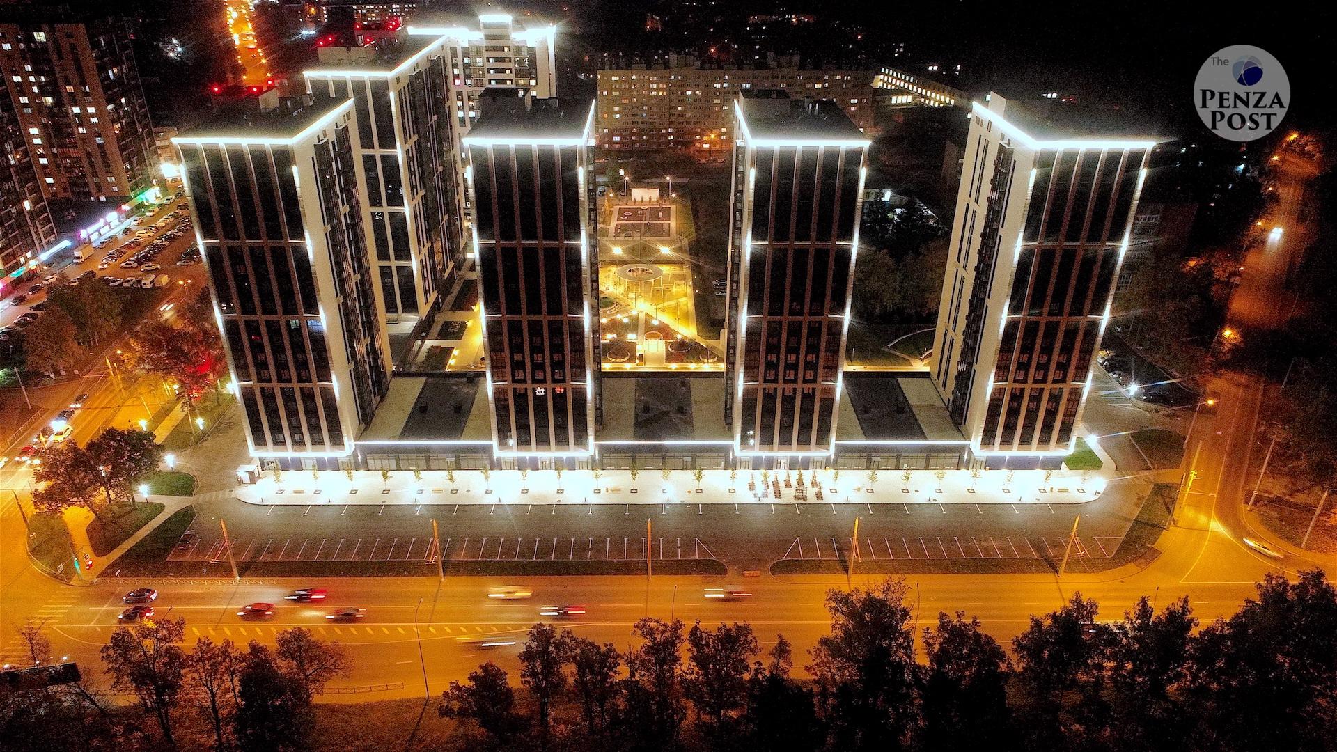 Ночной «Олимп» в Пензе от «Рисан». Фотопанорамы, которые цепляют душу... «Хотим жить, как в Пензе!»
