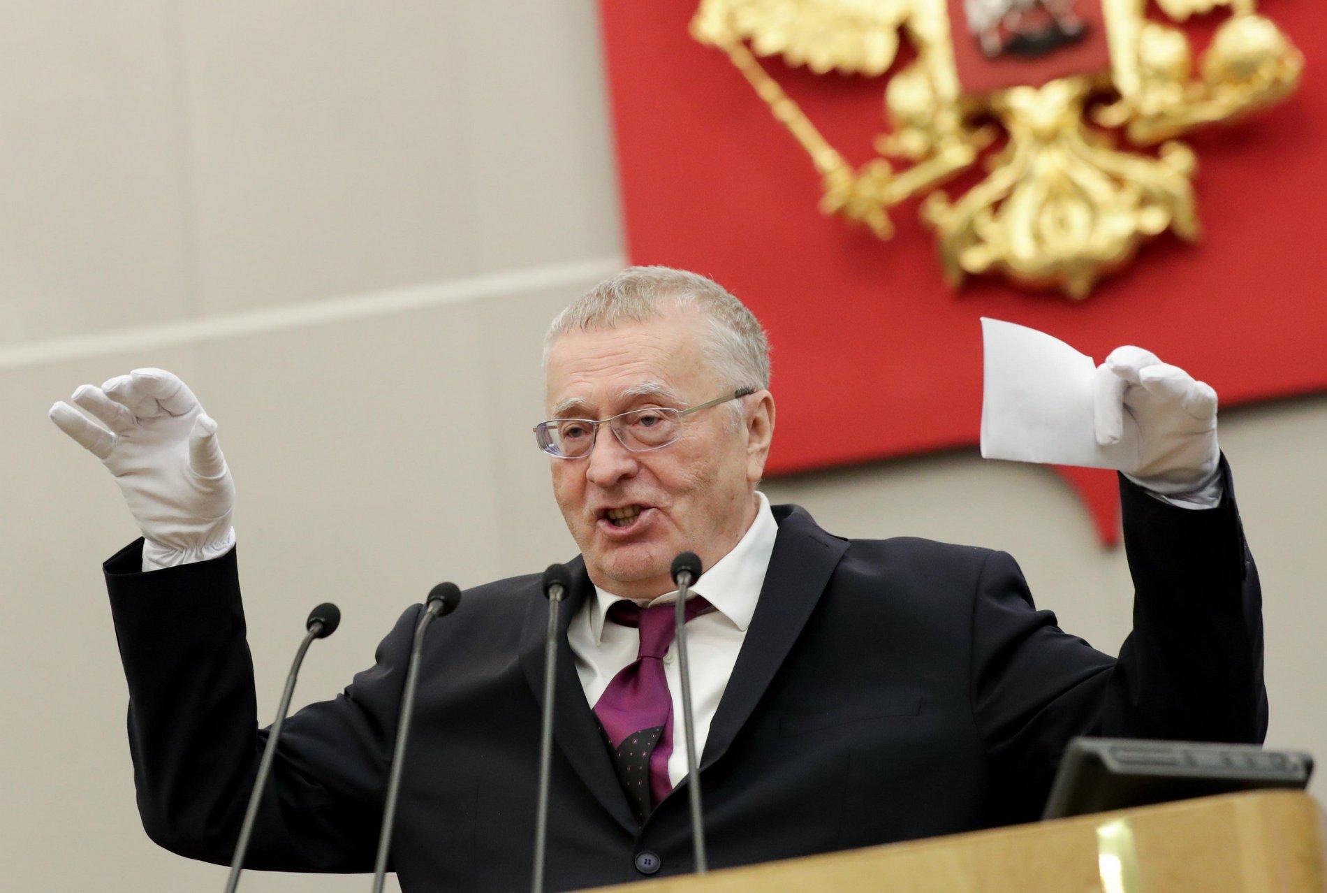 Жириновский полностью осознал опасность китайского коронавируса