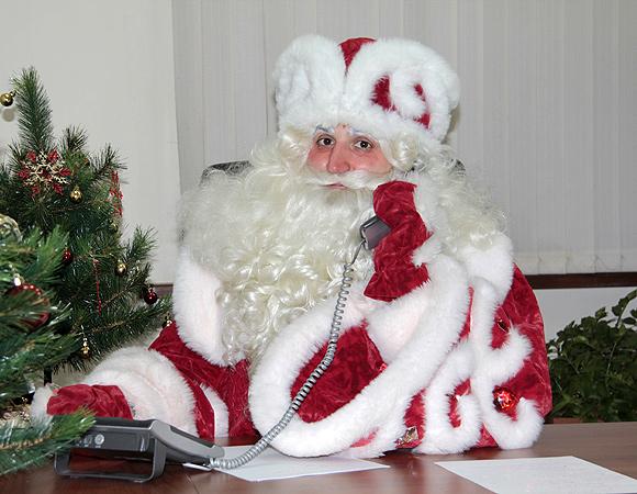 Нижегородцы подарили дедушке Морозу лазерное шоу надень рождения