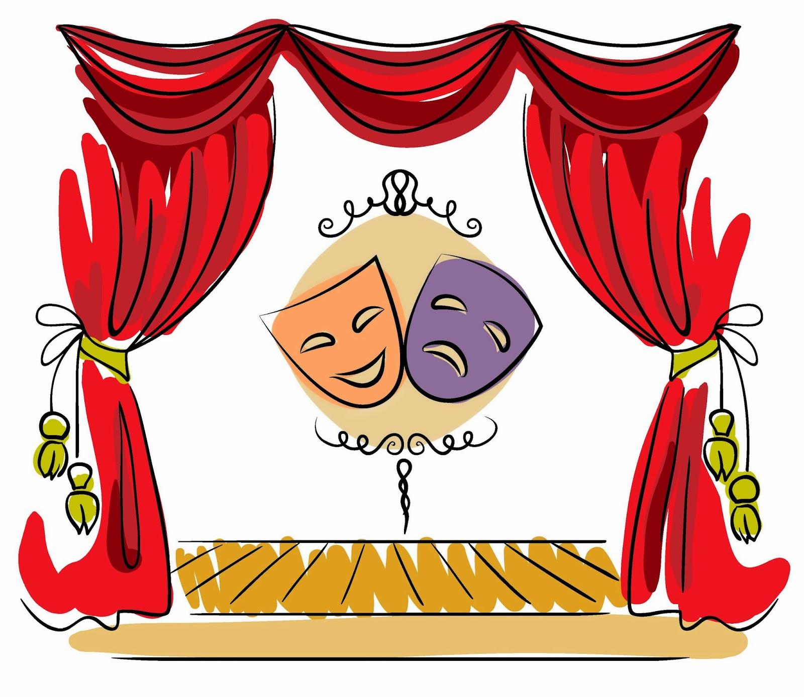 Рисунки про театры