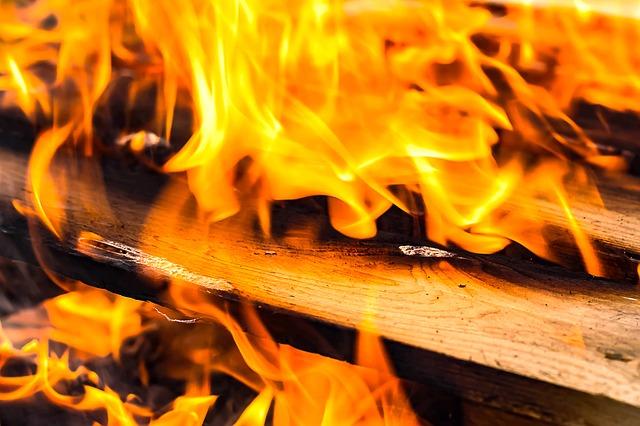 В Пензе в СНТ имени Мичурина сгорел садовый дом