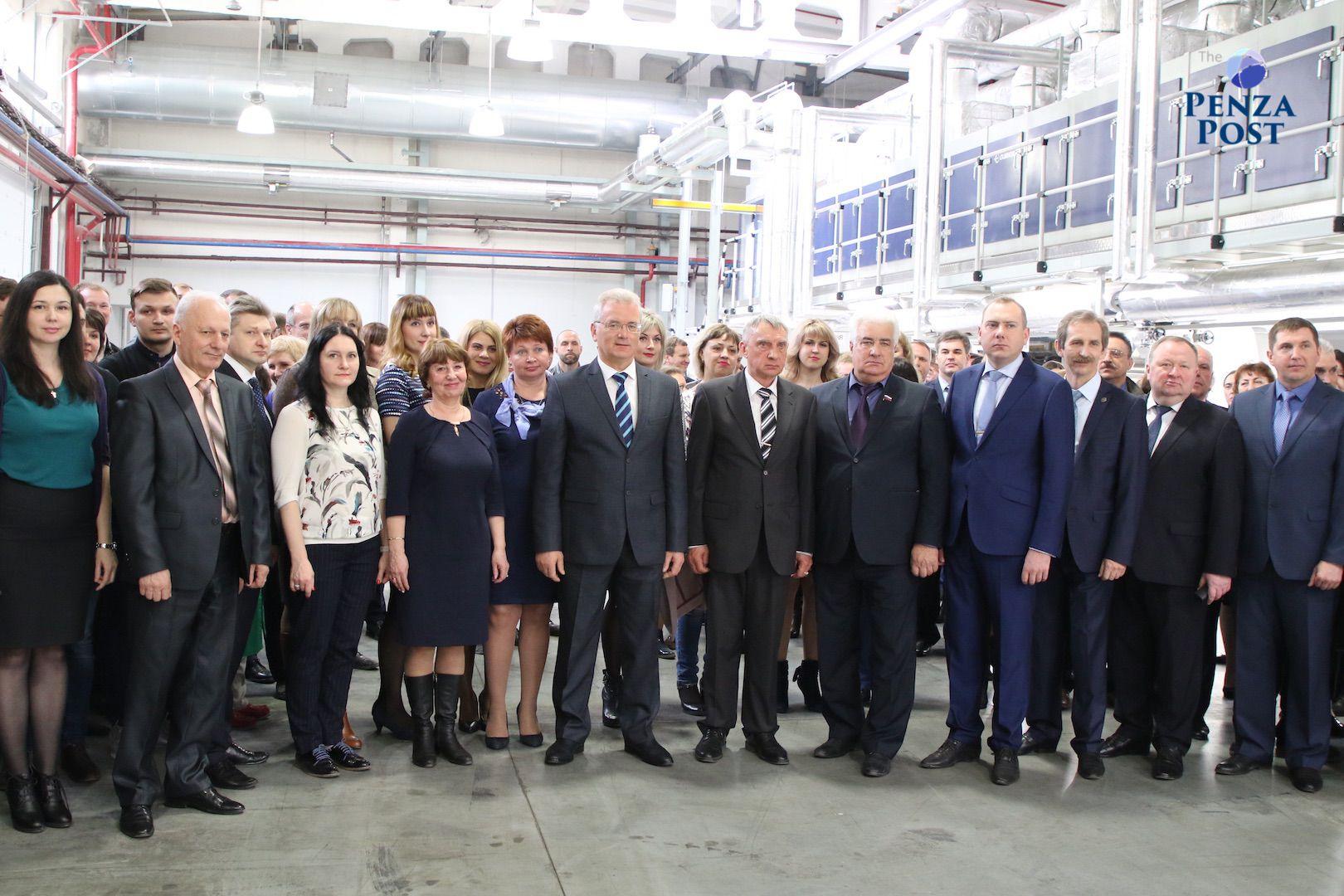 Пензенский «Маякпринт» открыл новейшую линию попроизводству обоев