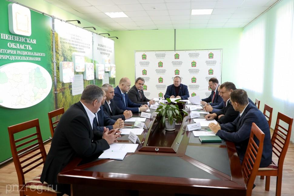 В Пензенской области планируют повысить процент переработки древесины
