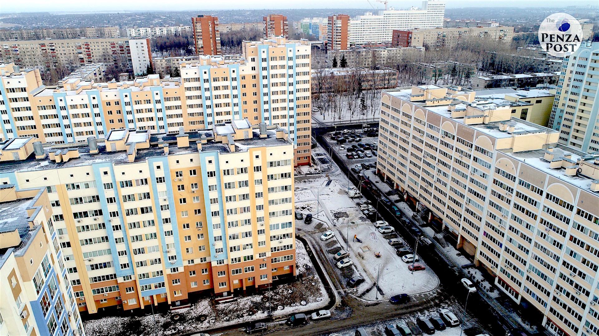 Пензенская область вошла в ТОП-30 регионов-лидеров по средней цене 1 кв. м в строящемся жилье