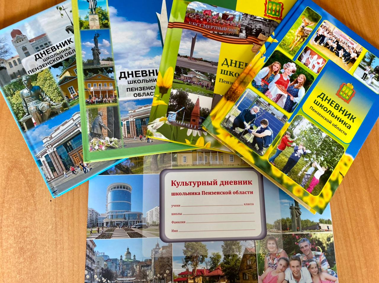 К 1 сентября учащиеся Пензенской области получат «Дневник школьника»