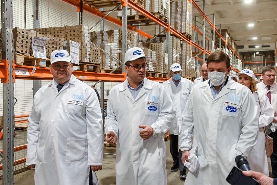 Андрей Турчак оценил автоматизацию процессов производства на предприятии в Пензе