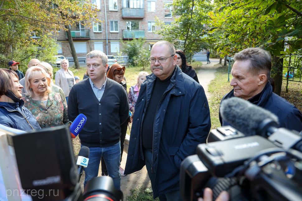 Более 120 млн рублей выделено на благоустройство дворовых территорий Пензенской области