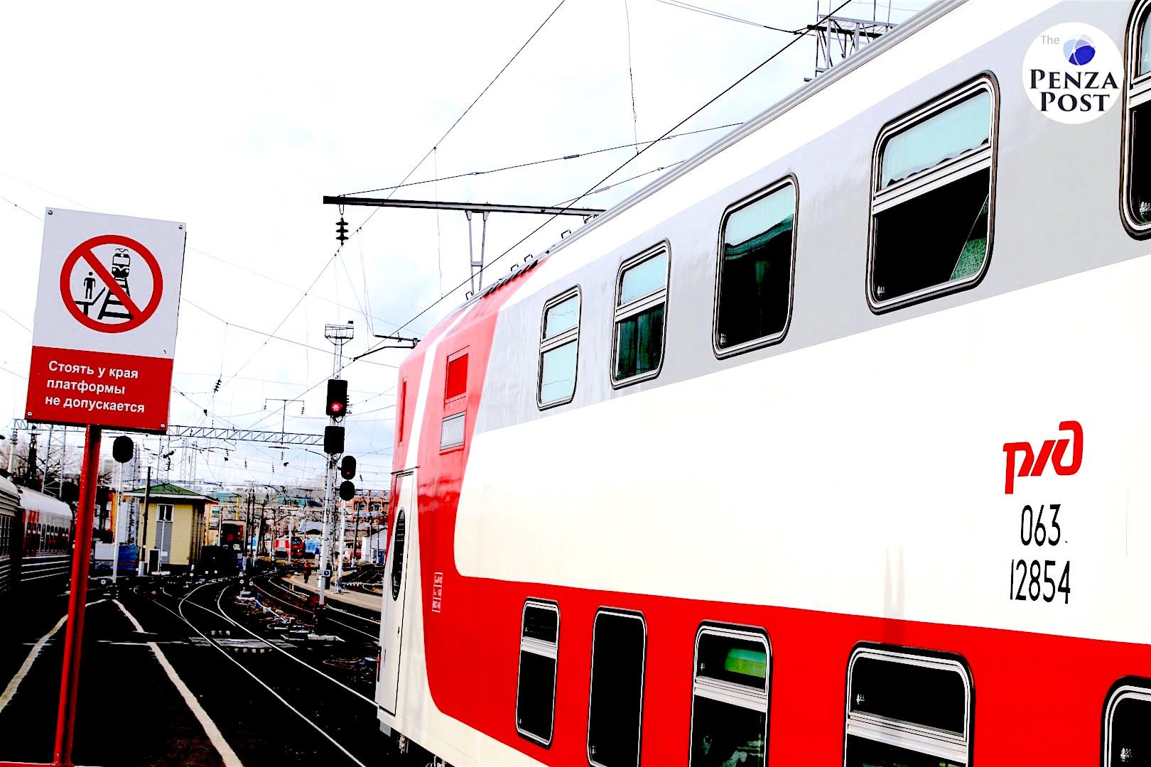 В Пензенской области восстановлено движение поездов