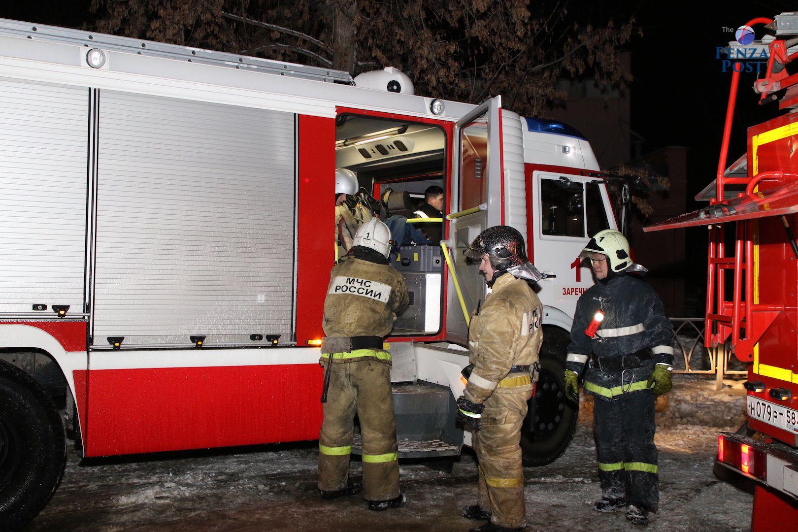 В Пензе в кинотеатре «Современник» произошел ночной пожар