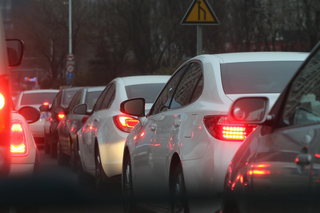 В Пензе из-за ДТП образовалась пробка на дорогах