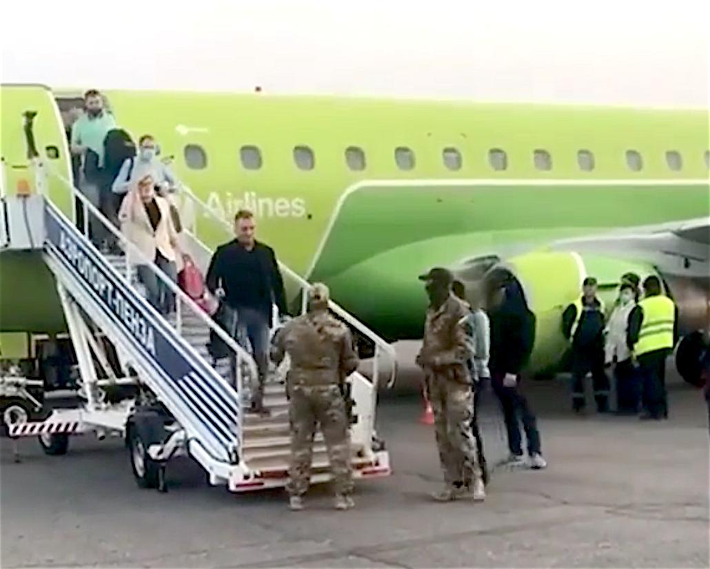 Пензенское УФСБ задержало у трапа самолета Игоря Байдарова, сына директора ПО «Старт» - видео