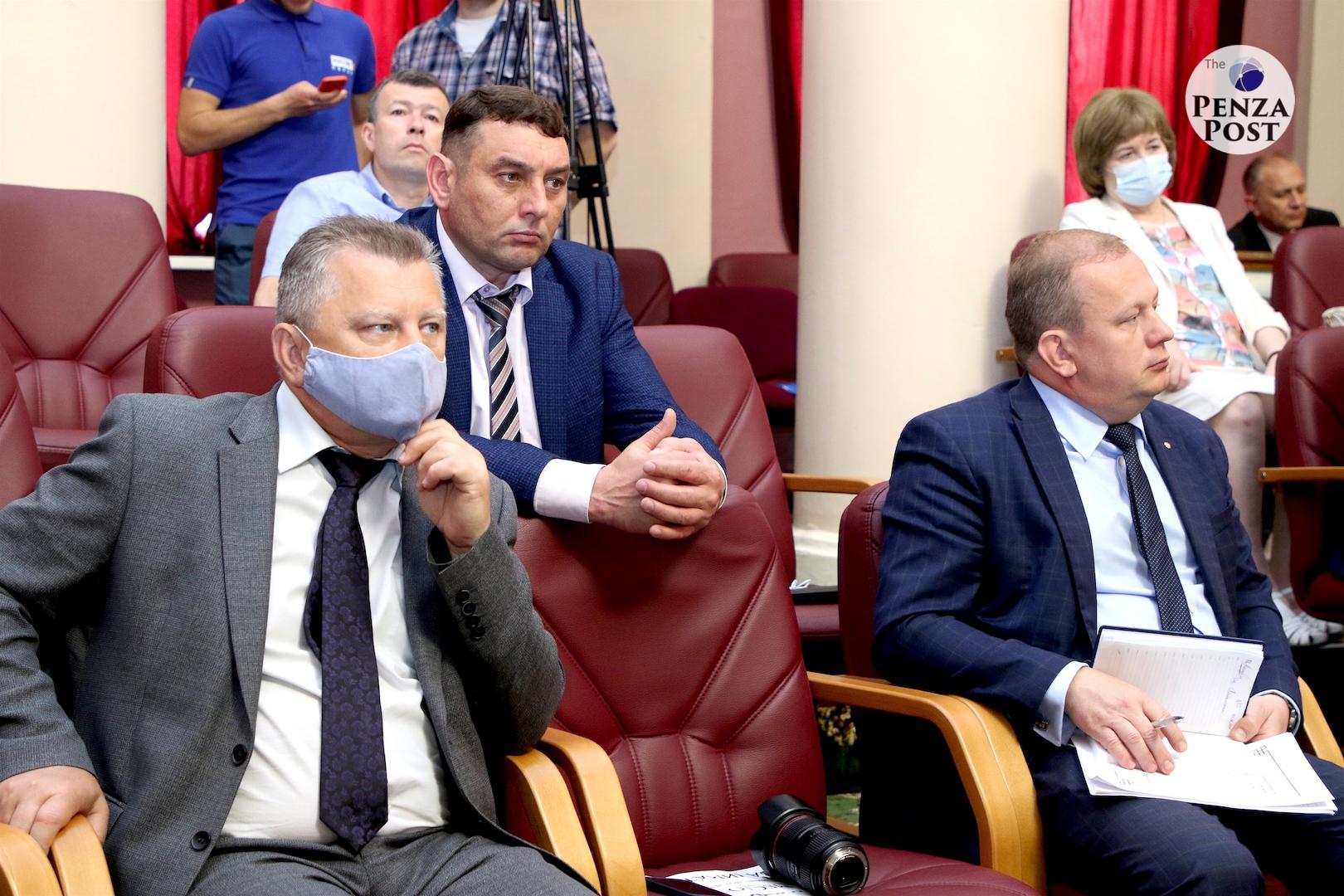 Оперативное совещание в Правительстве Пензенской области 7 июня 2021 года. Лица