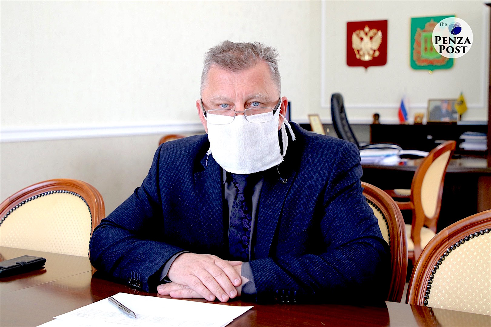 Пензенский ветеран благодарит врачей Владимира Автамонова и Александра Никишина за свое второе рождение