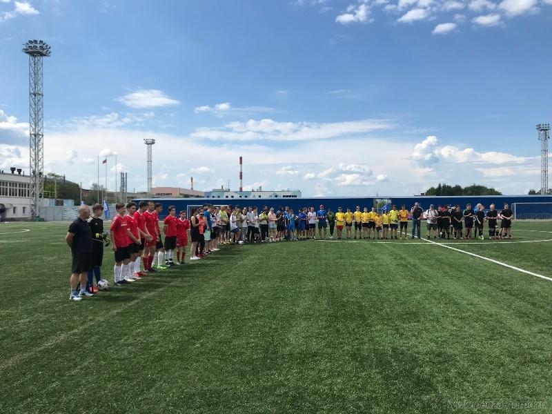 В Пензе открыт летний футбольный сезон