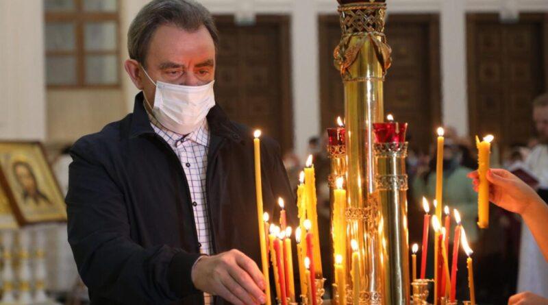 Валерий Лидин поздравил пензенцев с Пасхой