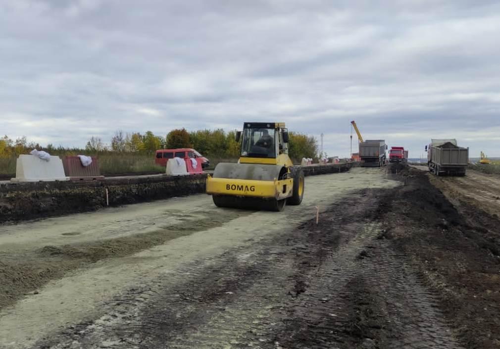 Продолжается ремонт участка автодороги регионального значения «г. Пенза – с. Кондоль»