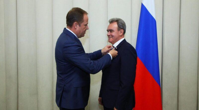 Указом президента Валерия Лидина удостоили орденом Почета