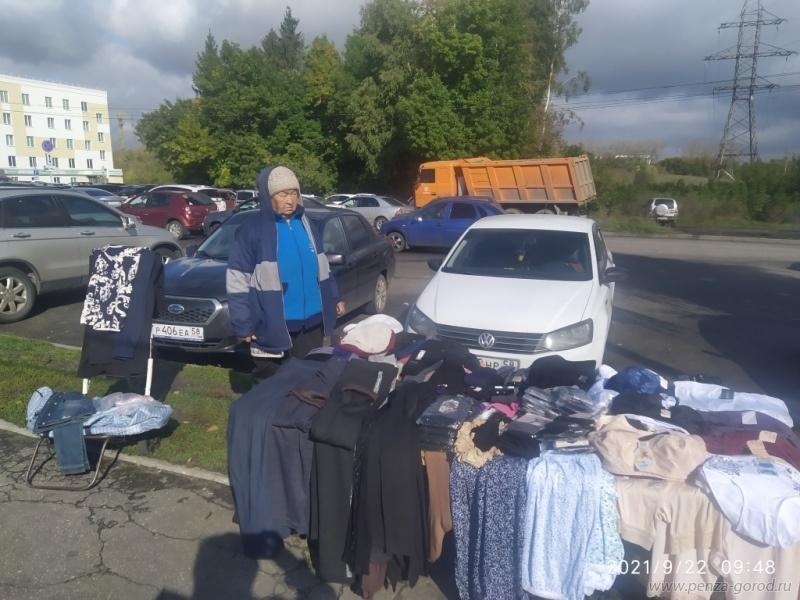 Уличные торговцы в Пензе привлечены к административной ответственности