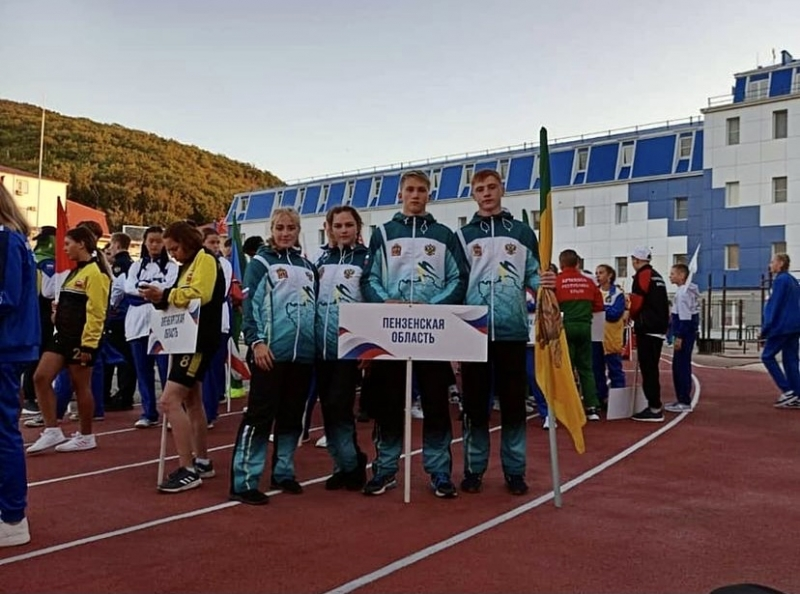 Школьники Кузнецка представляют Сурский край на Президентских спортивных играх