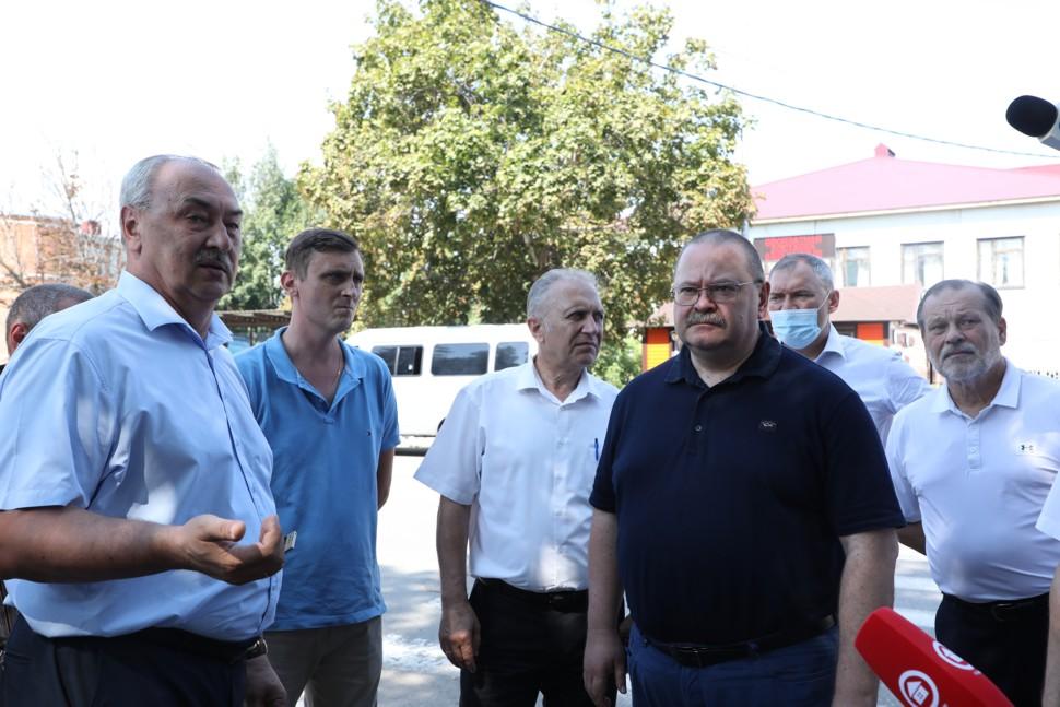 Врио губернатора Пензенской области потребовал ускорить благоустройство городских объектов Кузнецка