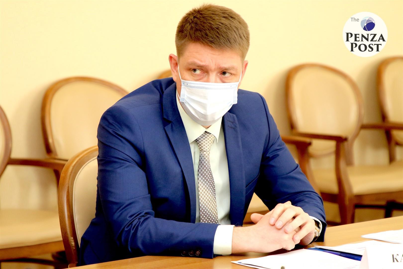 Врио министра труда Пензенской области Алексей Качан сообщил о доходах