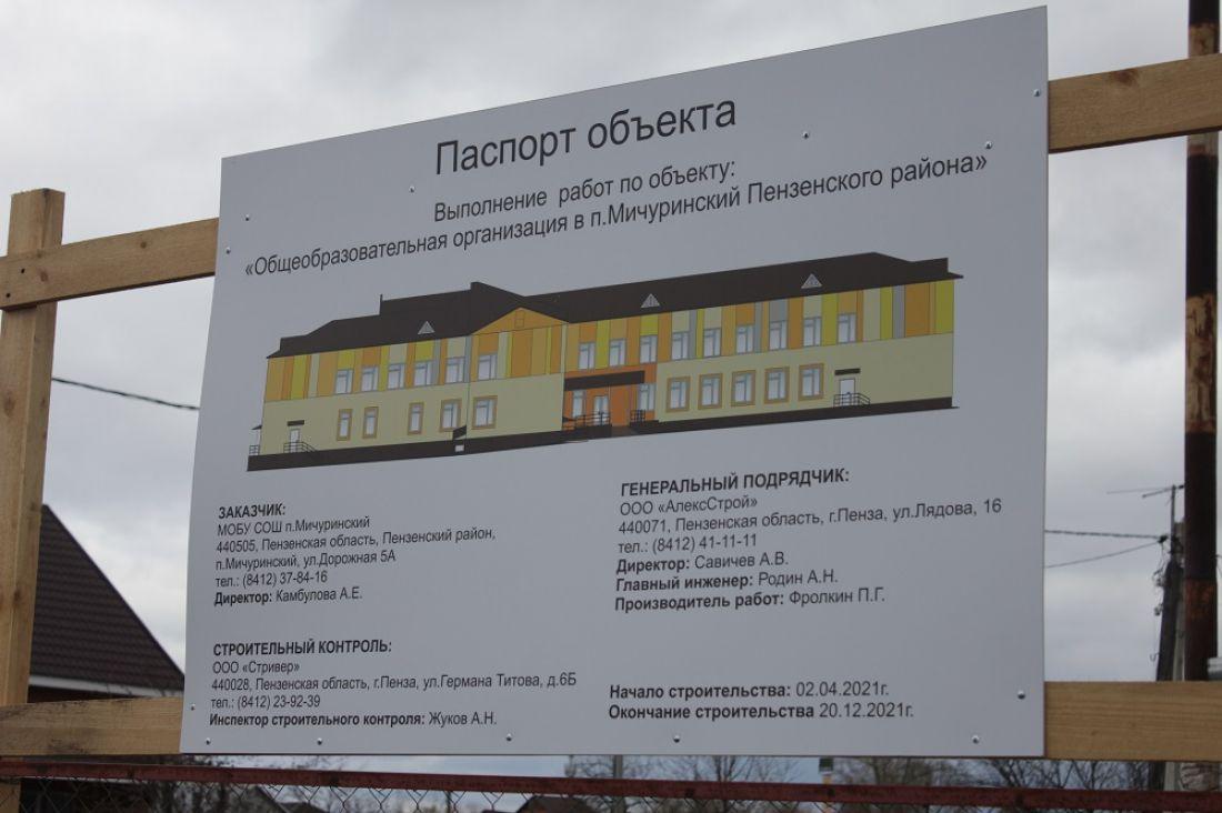 Школа в поселке Мичуринский будет строиться в две смены